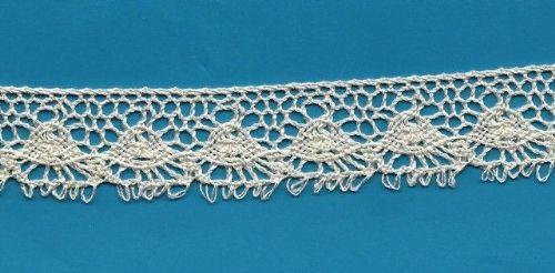 Cotton Crochet Lace-Ecru