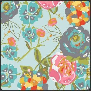 LillyBelle Garden Rocket Turquoise