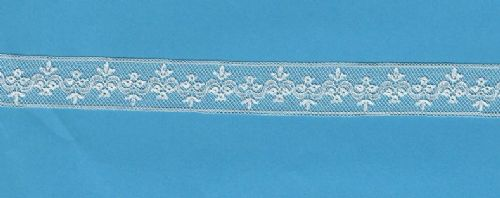 Maline Lace Insertion-Victoria Pattern