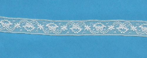 Maline Lace Insertion-Tulip Pattern
