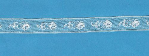 Maline lace Insertion-Rose Pattern