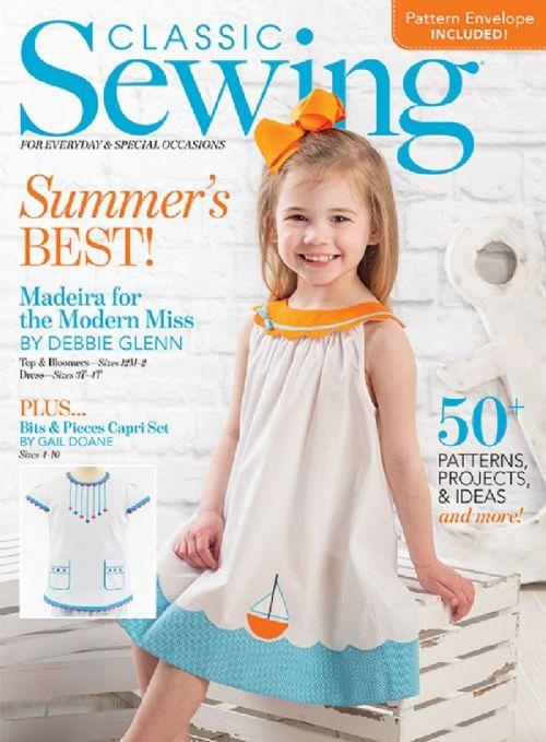 Classic Sewing Magazine Summer 2021