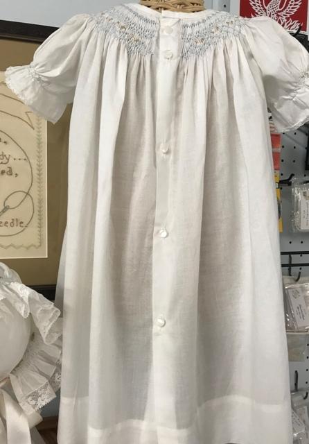 Heirloom Hand Smocked Bishop Daygown or Dress