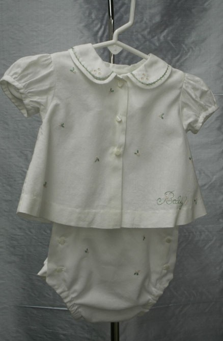 Baby Shirt & Diaper Cover