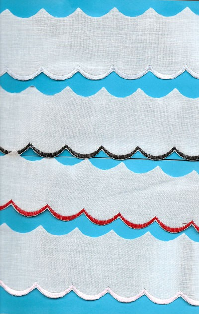 Colored Swiss Edging