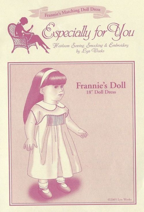 Frannie Doll Pattern