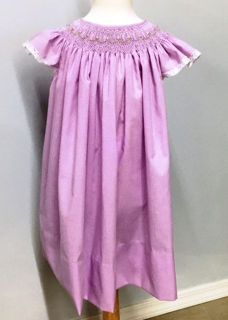 Ready to Smock Baby Bishop Dress or Gown
