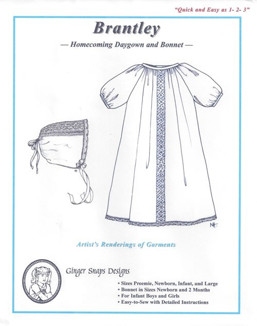 Brantley--Homecoming Daygown & Bonnet