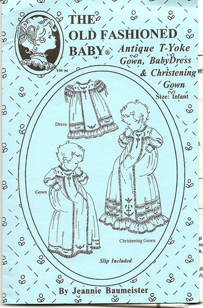Antique T-Yoke Gown, Baby Dress & Christening Gown