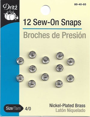 Dritz Sew-On Snaps
