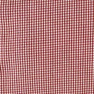 Seersucker Check-Red