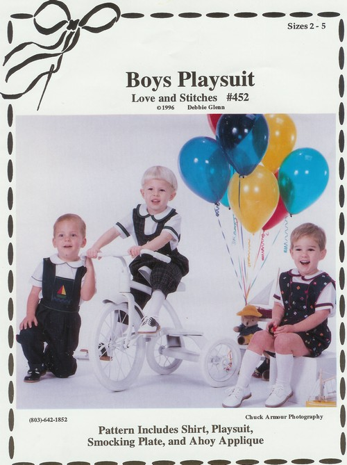 Boys Playsuit