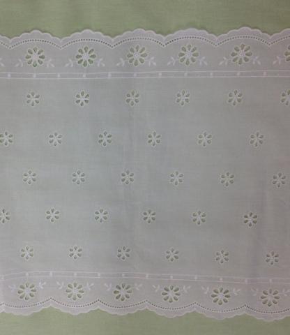 Swiss Cotton Table Runner