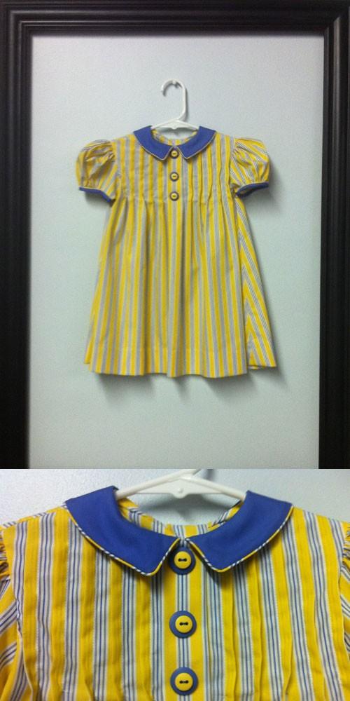 The Striped Tuck Dress