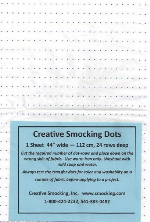 Creative Smocking Dots