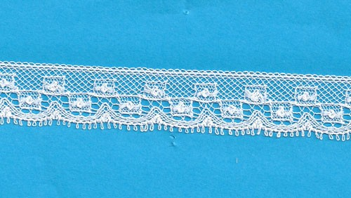 Maline Lace Edging-Box Pattern
