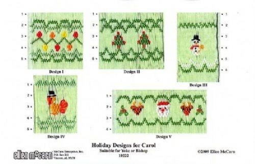 Holiday Designs for Carol