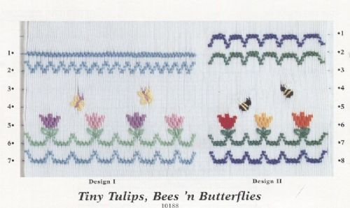 Tiny Tulips, Bees ' n Butterflies