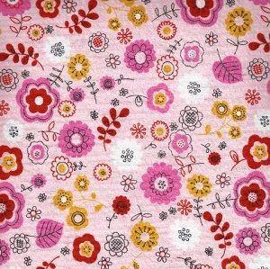 Seersucker Floral Print