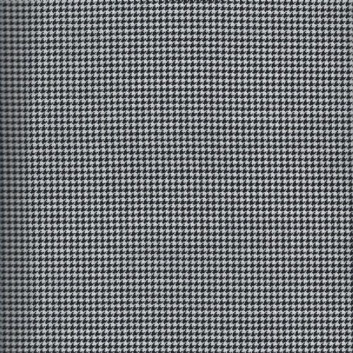 Small Black/White Houndstooth