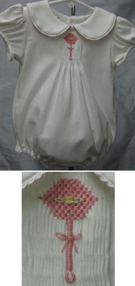 White Knit Bubble