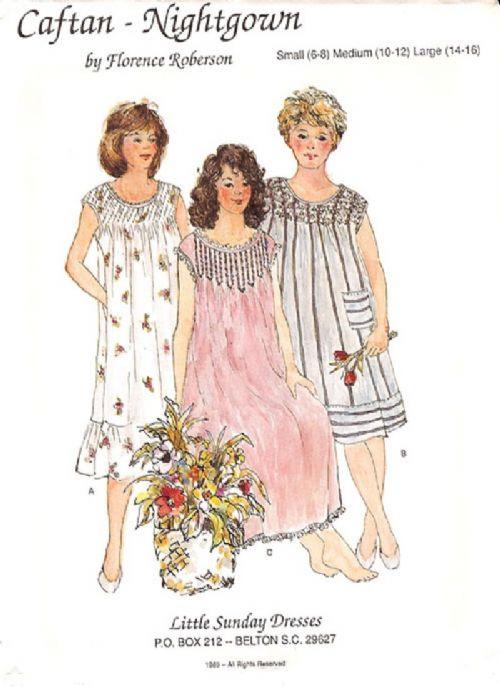 Ladies Caftan-Nightgown