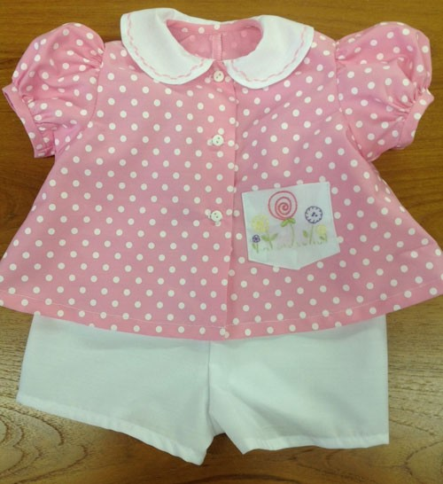 Michie's Diaper Shirt for Girls