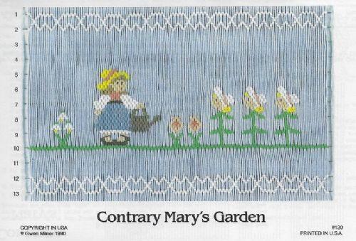 Contrary Mary's Garden