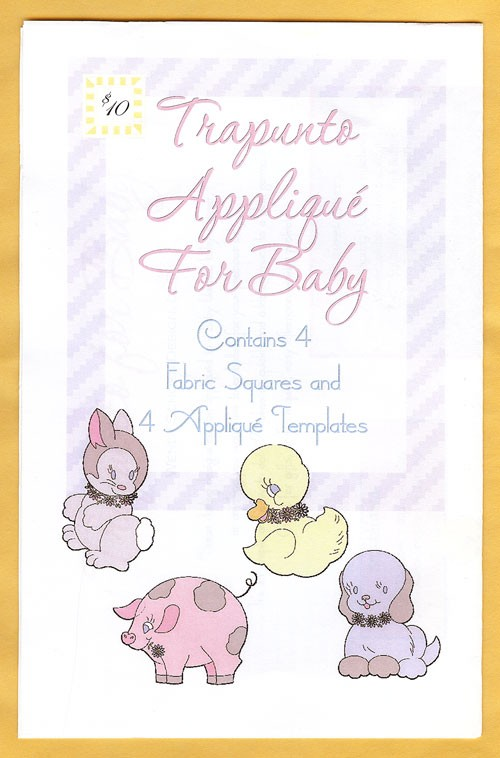 Trapunto Applique' for Baby