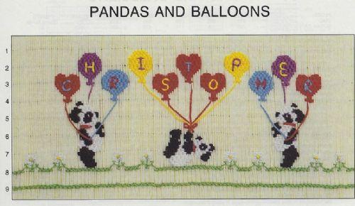 Pandas & Balloons