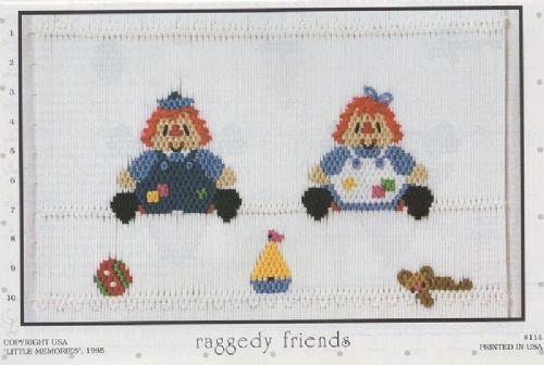 #114  Raggedy Friends