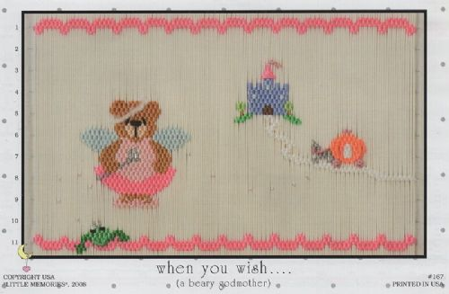 #167 When you wish.......(a Beary Godmother)