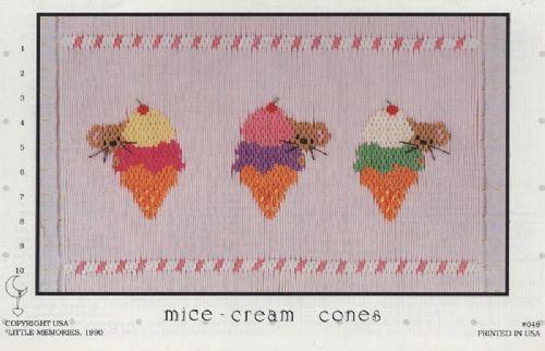 #048 Mice-cream Cones