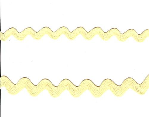 Ice Yellow Rick Rack