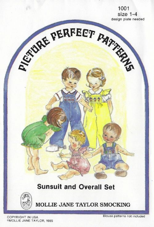 Sunsuit and Overall Set