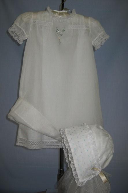 Daygown & Matching Bonnet