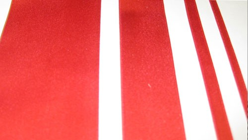Silk Satin Ribbon-Christmas Red