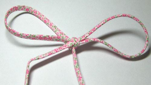Pink Floral Spaghetti Bias