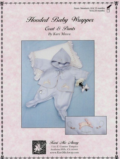 Hooded Baby Wrapper