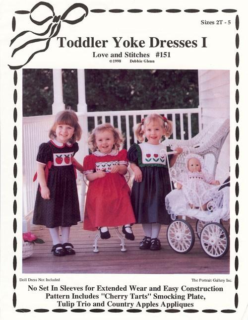 Toddler Yoke Dresses I