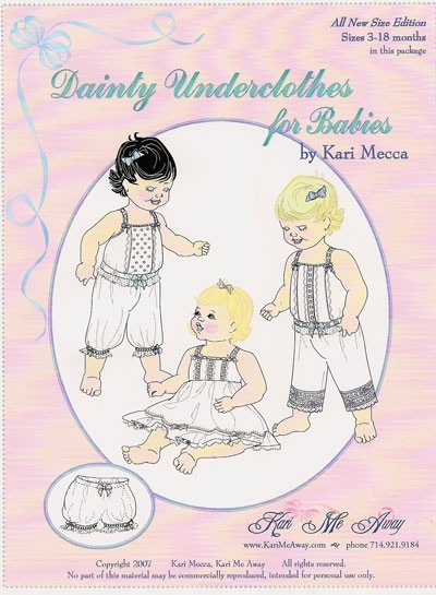 Dainty Underclothes for Babies