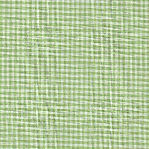 Pima Gingham Check Lime Green