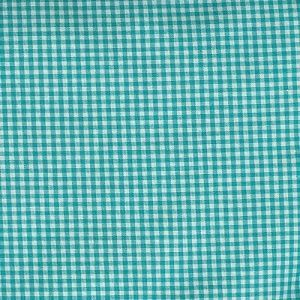 Gingham Check Turquoise
