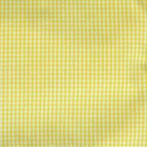 Pima Gingham Check Yellow