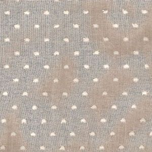 White Swiss Dotted Swiss Remnant