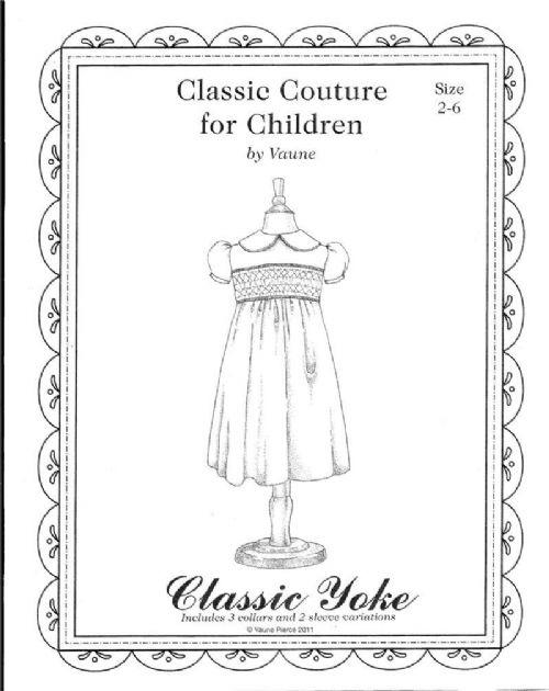Classic Yoke Dress
