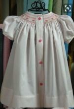 Front Closure Bishop Dress
