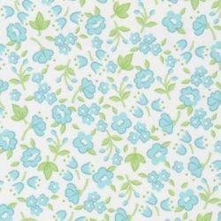 Challis Print-Blue