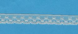 Maline Lace Edging-Box Pattern-Pale Ecru