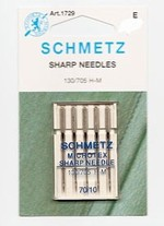 Schmetz Microtex Sharp Needle